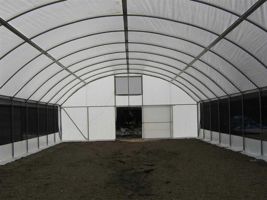 greenlife structures 10 metre habitat greenhouse