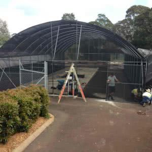 greenlife structures 10 metre habitat greenhouse