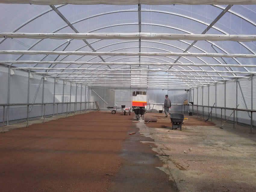 greenlife structures 12 metre habitat greenhouse