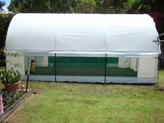 greenlife structures 4 metre habitat greenhouse