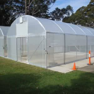 greenlife structures 6 metre habitat greenhouse