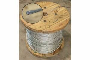 greenlife structures greenhouse shadehouse components - galvanised cable 7.5mm