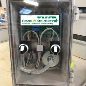 greenlife structures greenhouse gear motors - 24v motor control box