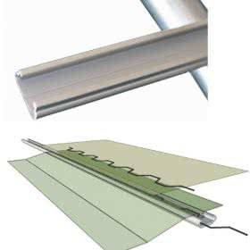 greenlife structures greenhouse springlock fastening system