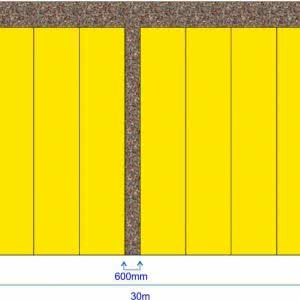 Rolling (Side Shift) Nursery Benches – 259.2m2 (33.33% increase in Bench Top Area)