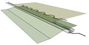 greenlife structures greenhouse springlock fastening system - spring clip